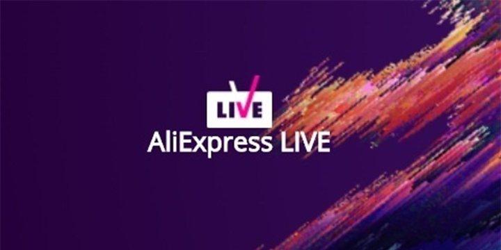 AliExpress Live, las presentaciones en streaming de productos en la tienda online