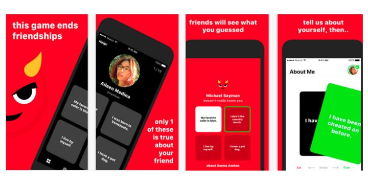 Lies, la app para saber qué piensan de ti