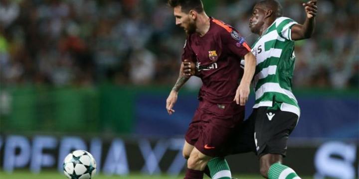 Cómo ver online Barcelona vs Sporting Lisboa de Champions League