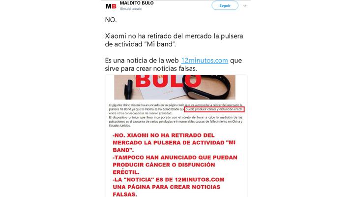Imagen - Bulo: Xiaomi Mi Band no produce cáncer