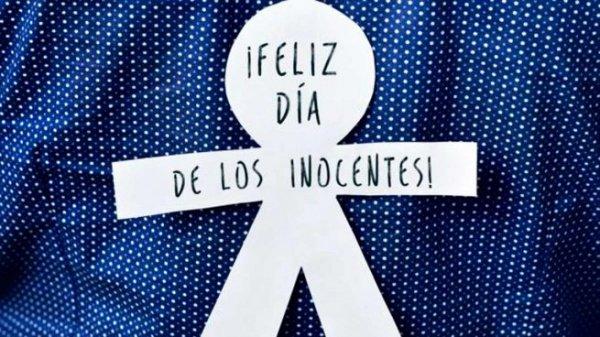 Imagen - 20 imágenes de el Día de los Inocentes para pasar por WhatsApp