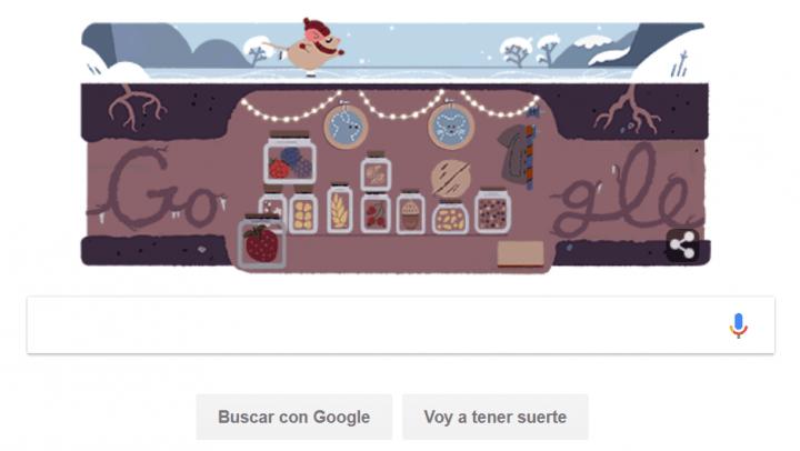 Imagen - Google celebra el Solsticio de invierno