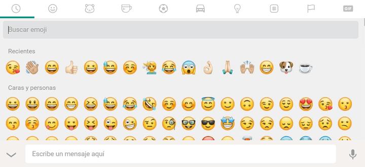 Imagen - WhatsApp Web se actualiza con nuevo diseño de emojis y cuentas verificadas