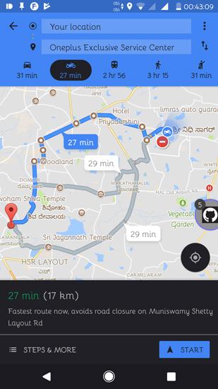 Imagen - Google Maps añade rutas optimizadas para motos