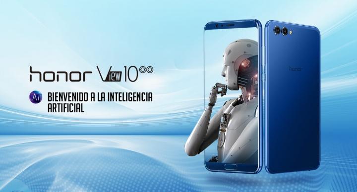 Honor View 10: cámara dual, pantalla sin biseles e inteligencia artificial