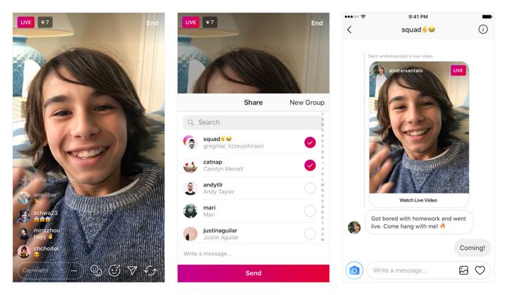 Imagen - Instagram ya permite enviar directos por privado