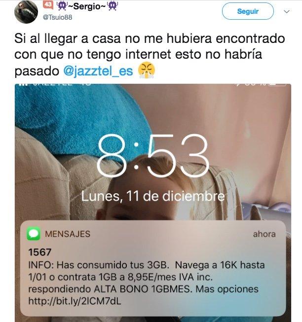 Imagen - La fibra de Jazztel sufre una caída