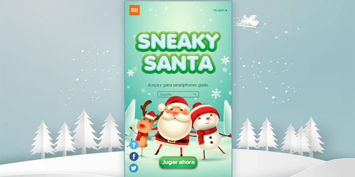 Xiaomi regala descuentos y smartphones en su juego de Navidad