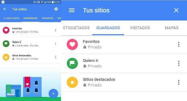 Imagen - Las listas de Google Maps llegan a ordenadores