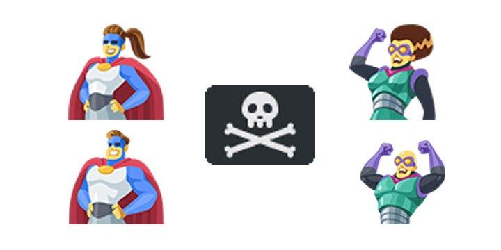 Emoji 11.0 entra en beta: así son los emojis del 2018