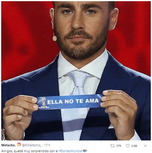Imagen - Los mejores memes del sorteo para el Mundial de Rusia 2018