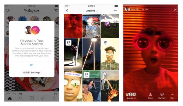 Imagen - Instagram ya permite guardar Stories y añadirlas a la bio