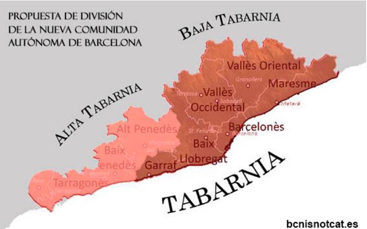 Imagen - ¿Qué es Tabarnia?, el concepto nacido en las redes sociales