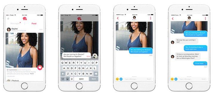 Imagen - Tinder lanza su Feed y se integra con Instagram y Spotify