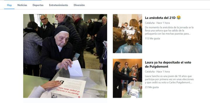 Imagen - Cómo seguir las Elecciones catalanas por Internet