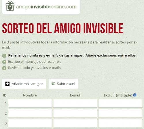 Imagen - 5 páginas web para hacer el Amigo Invisible