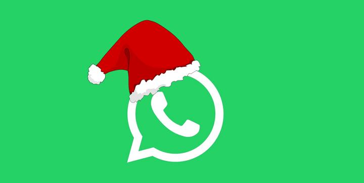 Cómo felicitar la Navidad a tus amigos por WhatsApp