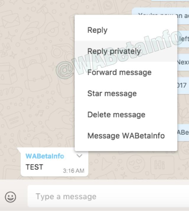 Imagen - WhatsApp mejorará las respuestas en grupos y añadirá modo PiP en web y ordenadores