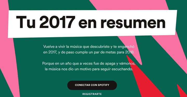 Imagen - Descubre las canciones que más has escuchado en Spotify en 2017