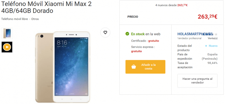 Imagen - 7 tiendas dónde comprar el Xiaomi Mi Max 2