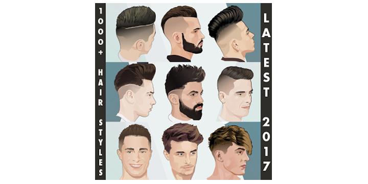 Encuentra tu corte de pelo con la app 1000+ Boys Men Hairstyles and Hair cuts 2017