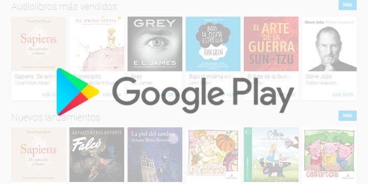 Google lanza los Audiolibros en Google Play