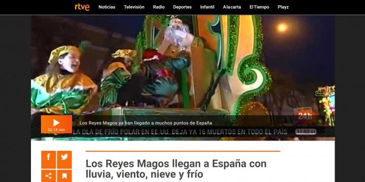 Imagen - Cómo seguir la cabalgata de los Reyes Magos 2018 online