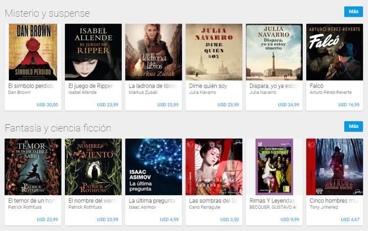 Imagen - Google lanza los Audiolibros en Google Play