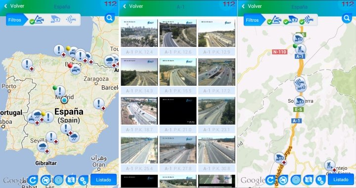 Imagen - Cómo consultar el estado de las carreteras
