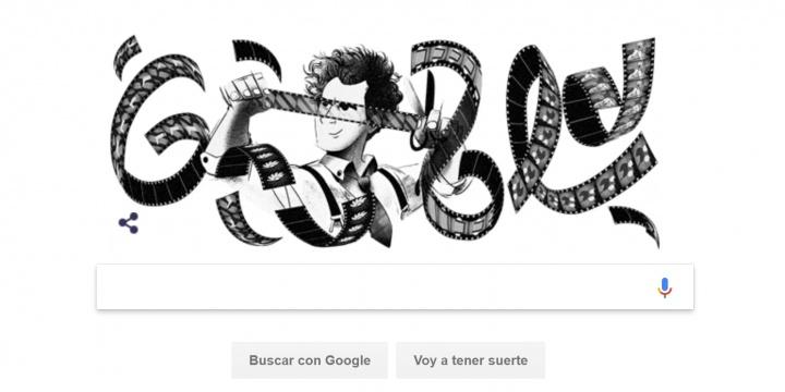 Google dedica su Doodle al cineasta Sergéi Eisenstein