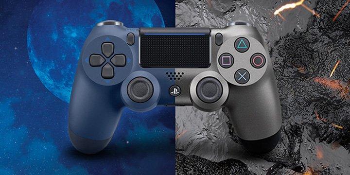 DualShock 4 Midnight Blue y Steel Black, las nuevas versiones del mando de PlayStation 4
