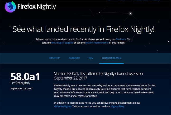 Imagen - Descarga Firefox 58 con correcciones para Meltdown y Spectre