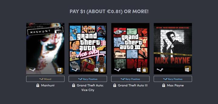 Imagen - Oferta: los juegos de Grand Theft Auto desde menos de 1 euro
