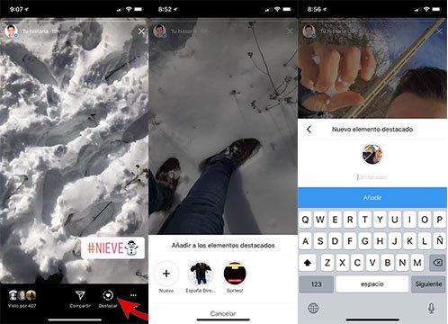 Imagen - Cómo destacar Instagram Stories