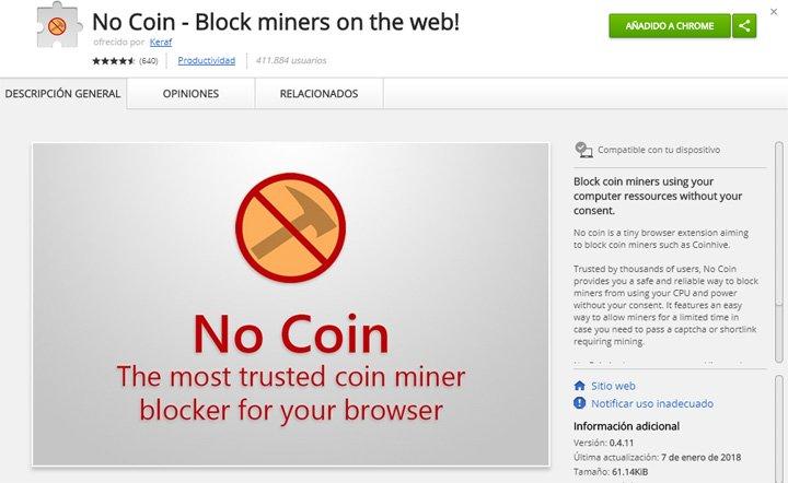 Imagen - Varios antivirus alertan de código de minado de criptomonedas en diversas webs