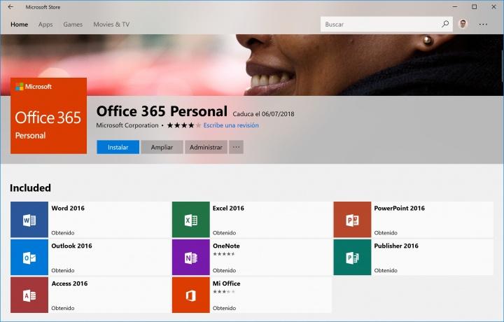 Imagen - Descarga Office 365 Hogar y Office 365 Personal desde la Tienda de Windows 10