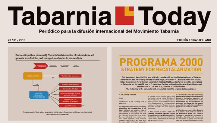 Imagen - Tabarnia lanza un diario para explicar al mundo su posición unionista