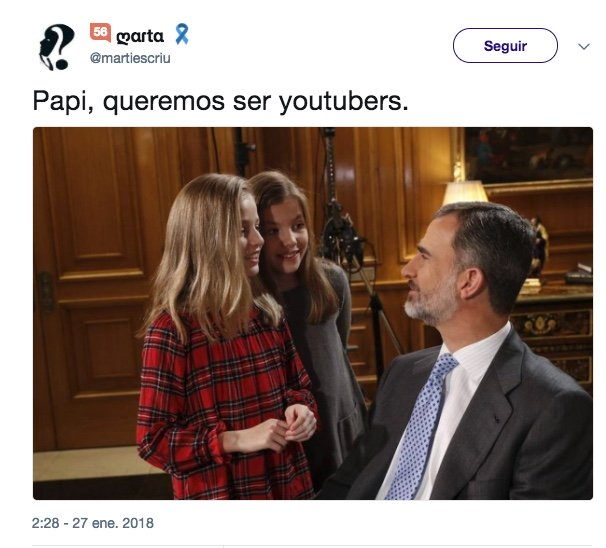 Imagen - Los mejores memes del vídeo por el 50 cumpleaños del rey Felipe VI