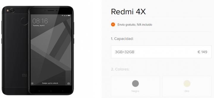 Imagen - 7 tiendas donde comprar el Xiaomi Redmi 4X
