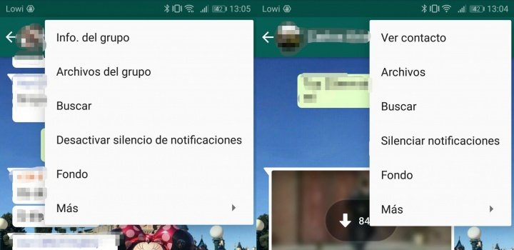 Imagen - Cómo crear un acceso directo a un chat de WhatsApp