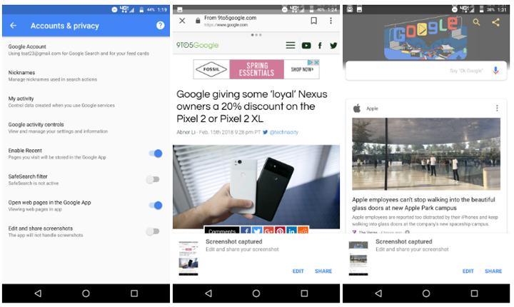 Imagen - Android permitirá editar y compartir capturas de pantalla