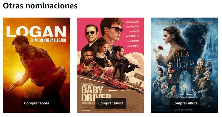 Imagen - Oferta: las películas nominadas a los Oscars 2018 en Amazon