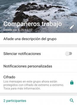 Imagen - WhatsApp añade descripciones para los grupos