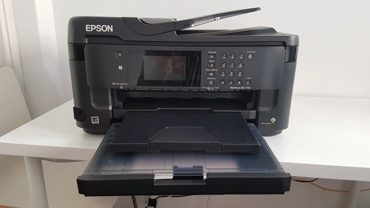 Imagen - Review: Epson WorkForce WF-7710DWF, una impresora para pensar en grande