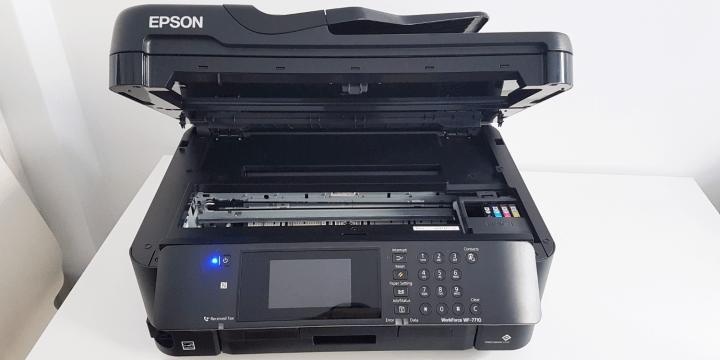 Review: Epson WorkForce WF-7710DWF, una impresora para pensar en grande