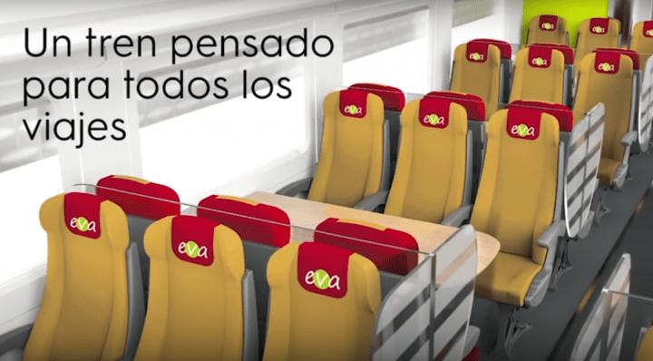 Imagen - EVA, el AVE low cost con WiFi y más que solo se podrá comprar online