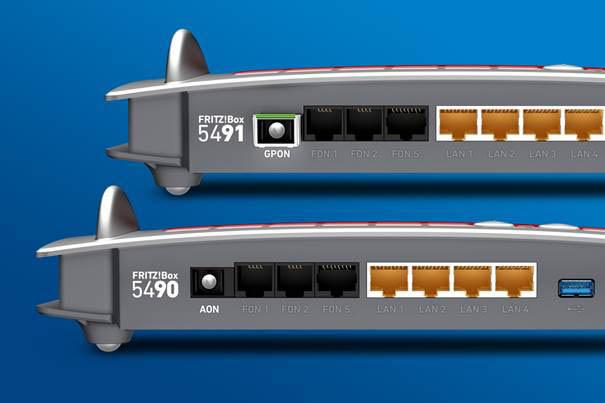 Imagen - FRITZ!Box 5491 y 5490, los nuevos routers con soporte para fibra FTTH
