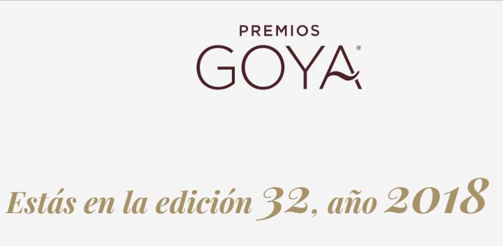 Imagen - Cómo ver online los Goya 2018