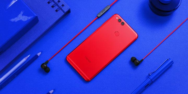Honor 7X Red, la edición especial en rojo por San Valentín