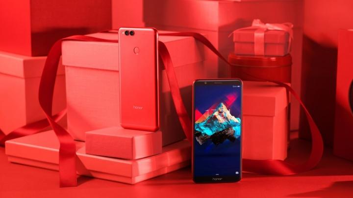 Imagen - Honor 7X Red, la edición especial en rojo por San Valentín